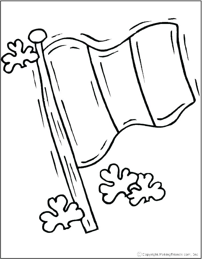 708x908 State Flag Coloring Pages New State Flag Coloring Page Map