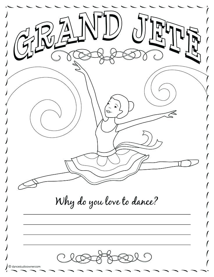 736x952 Jazz Coloring Pages Dance Coloring Pages Grand Coloring Page Dance