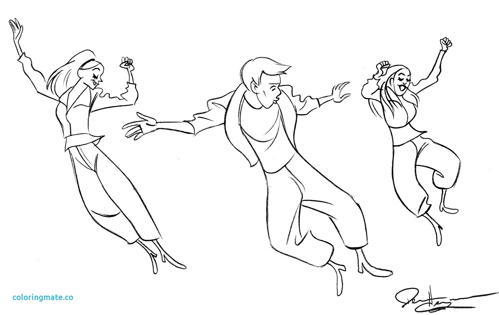 1600x1010 Jazz Coloring Pages Fresh Free Coloring Pages Break Dance