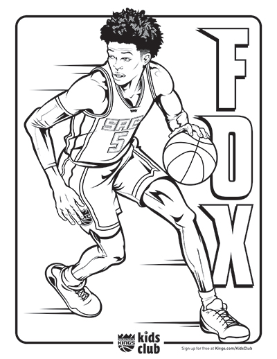 400x518 Kings Introduce New Coloring Pages Sacramento Kings