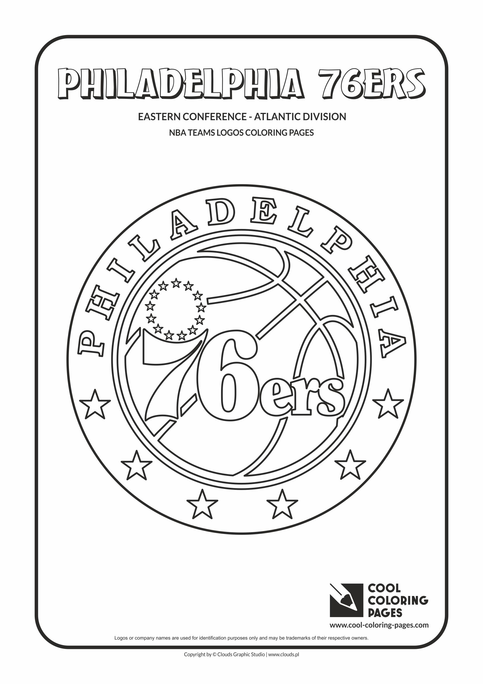 1654x2339 Cool Coloring Pages Nba Teams Logos Coloring Pages