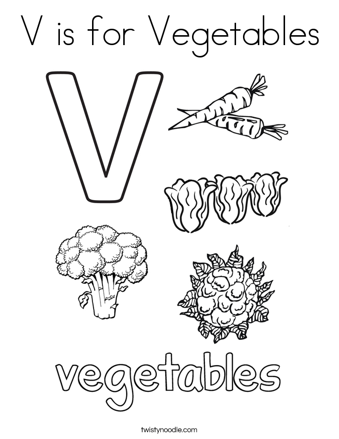 685x886 Letter V Coloring Pages