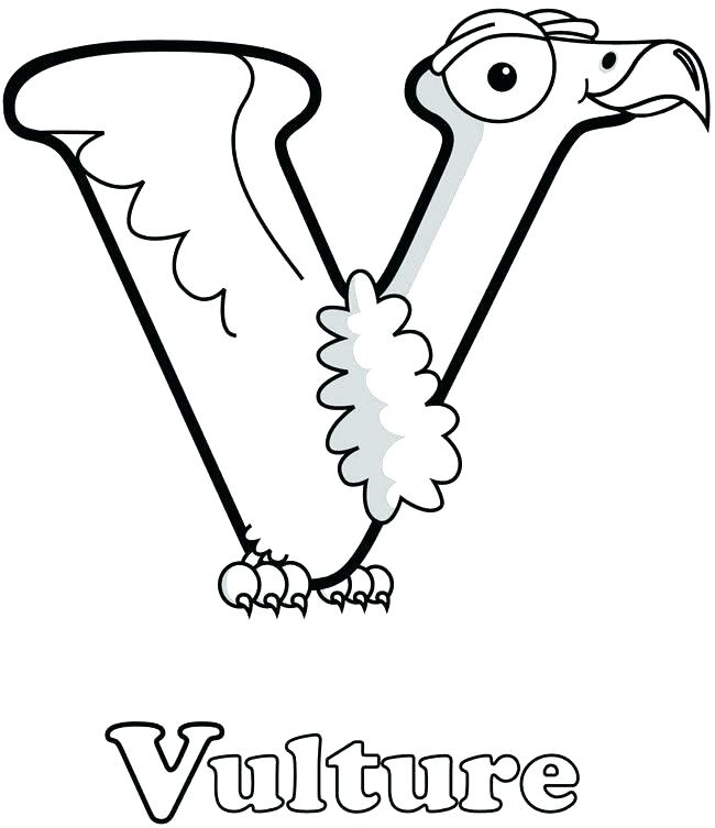 650x753 V Coloring Page Letter V Coloring Page Letter V Coloring Pages