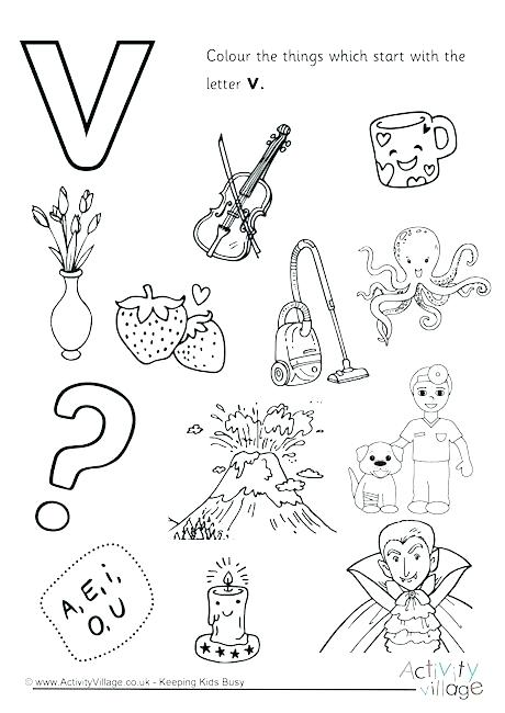 460x650 Letter I Coloring Page Letter V Coloring Page Start