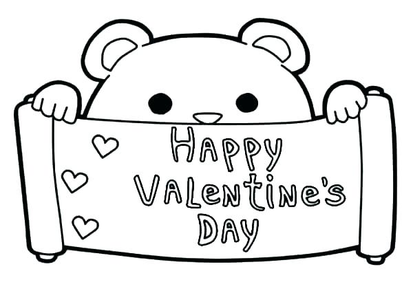 600x423 Preschool Valentine Coloring Pages Child Coloring Coloring Pages