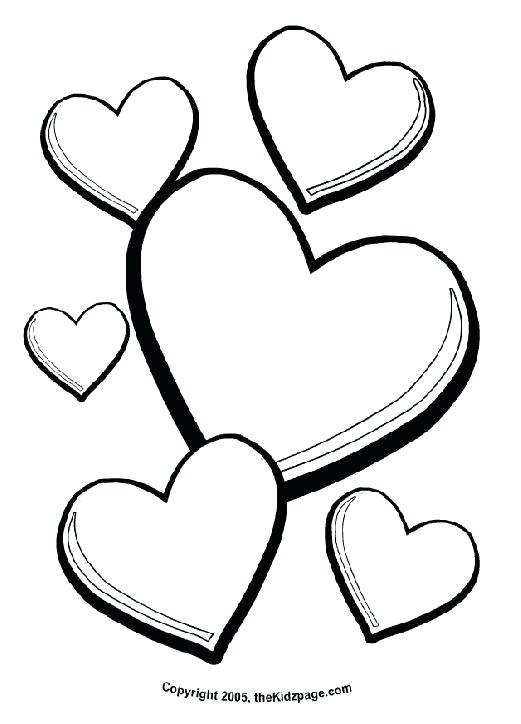 521x724 V Day Coloring Pages A Homemade Valentines Day Card Free Kids