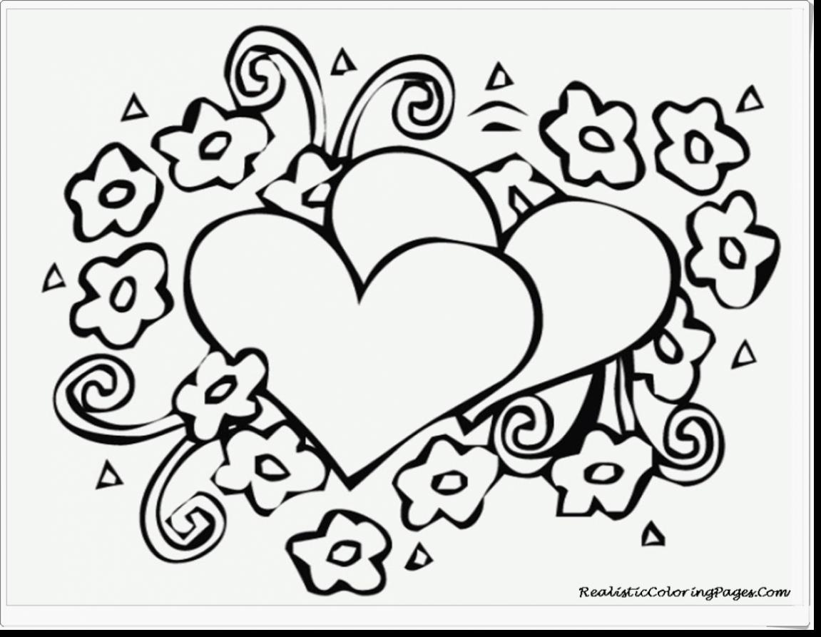 1151x893 Valentines Day Coloring Pages For Adults