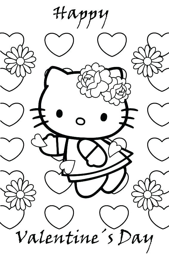 567x850 Coloring Pages Of Valentines Day Valentines Day Coloring Pages