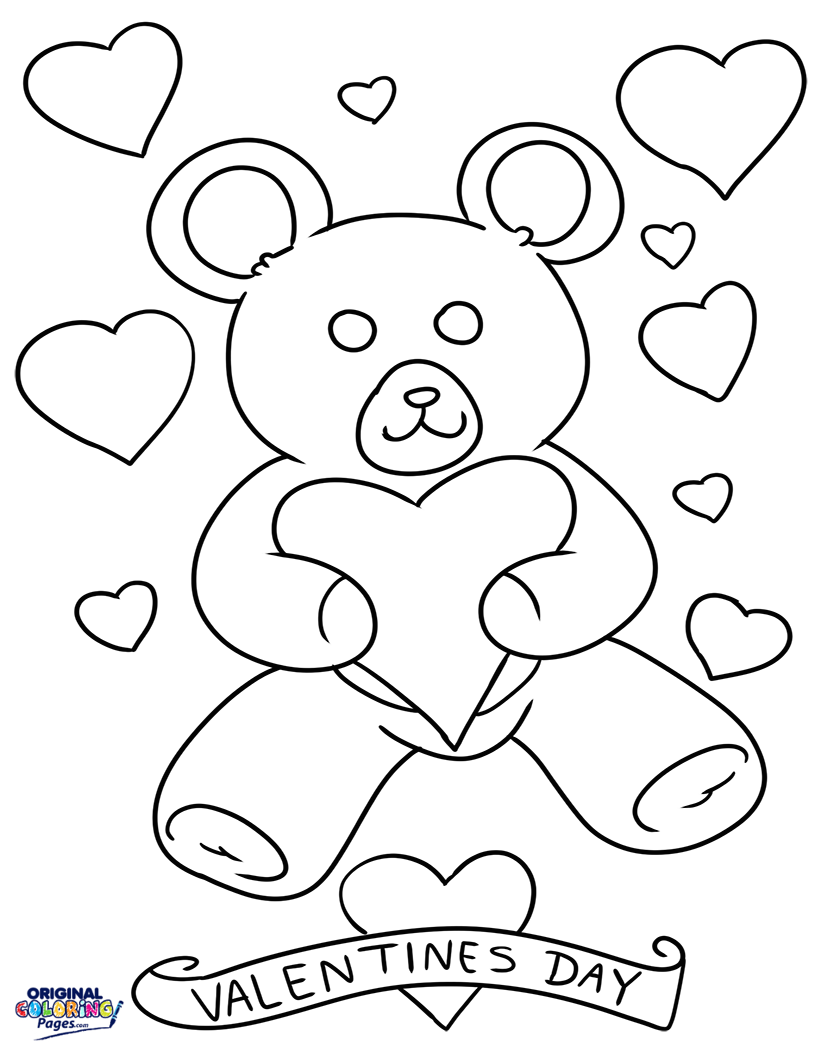 815x1056 Valentines Day Coloring Pages Original Coloring Pages