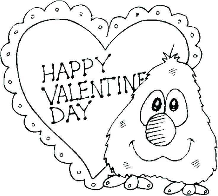736x660 Printable Coloring Pages For Valentines Day Coloring Ideas Pro