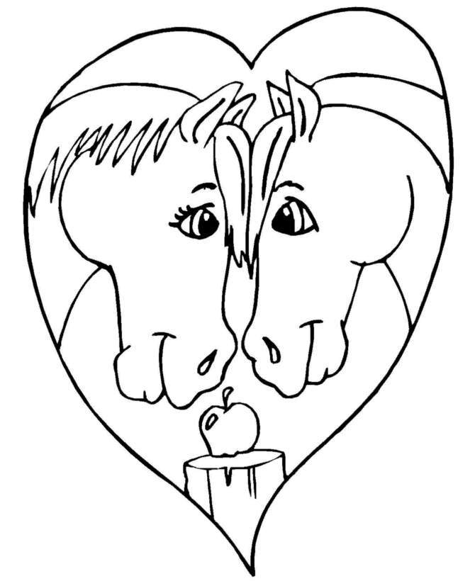 670x820 Valentine's Day Coloring Pages For Adults January