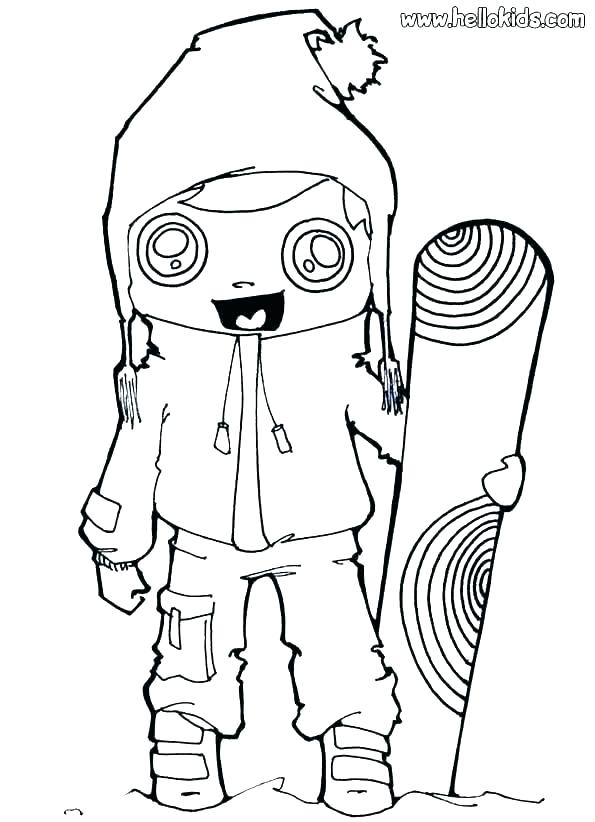 595x822 Winter Animals Coloring Pages Winter Animals Coloring Pages
