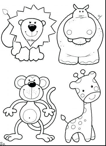 364x500 Coloring Pages Cute Baby Animal Coloring Pages Valentines Day