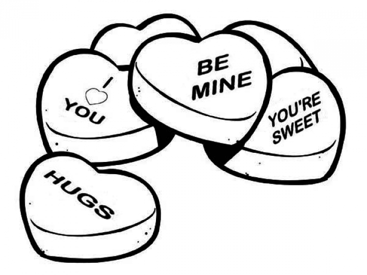 Valentine Candy Coloring Pages at GetDrawings.com | Free for ...