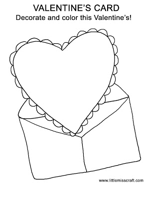 295x400 Free Coloring Pages Etyho Valentine Card Coloring Pages