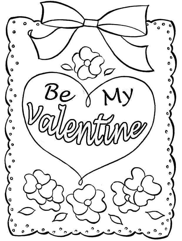 619x820 Fresh Coloring Pages Valentines Day Cards Coloring Ws