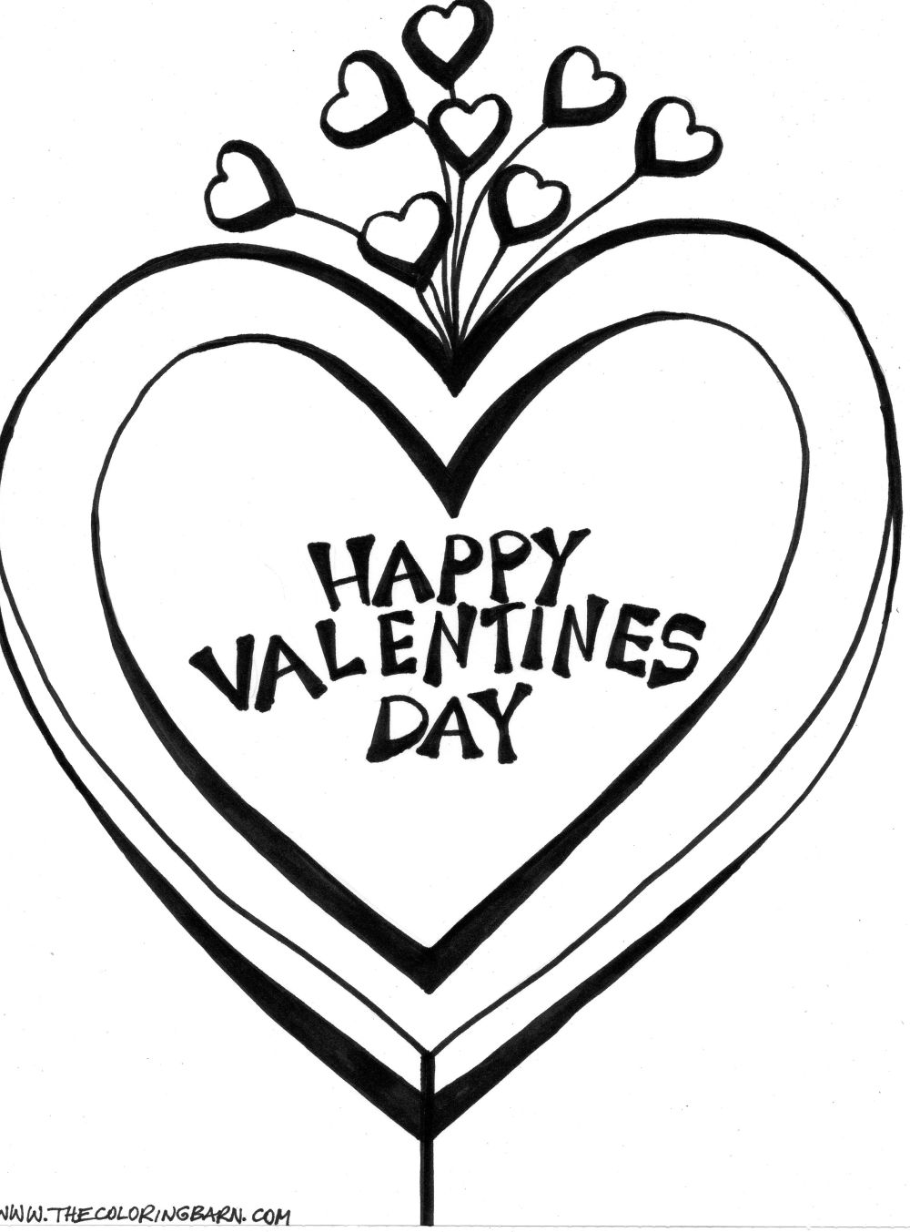 1000x1353 Valentines Day Coloring Pages