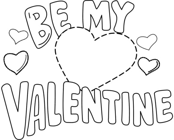 Valentine Coloring Pages At Getdrawings Com Free For Personal Use