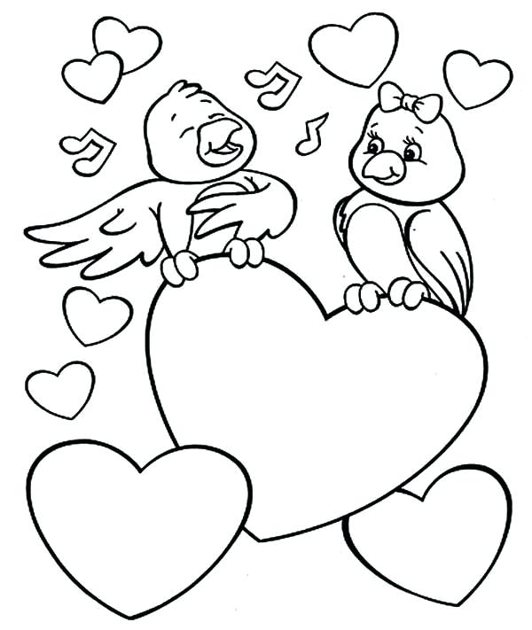 600x711 Printable Valentine Coloring Pages Coloring Printable Valentine
