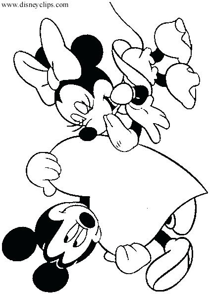 424x592 Valentines Coloring Pages Disney Disney Valentine Coloring Pages