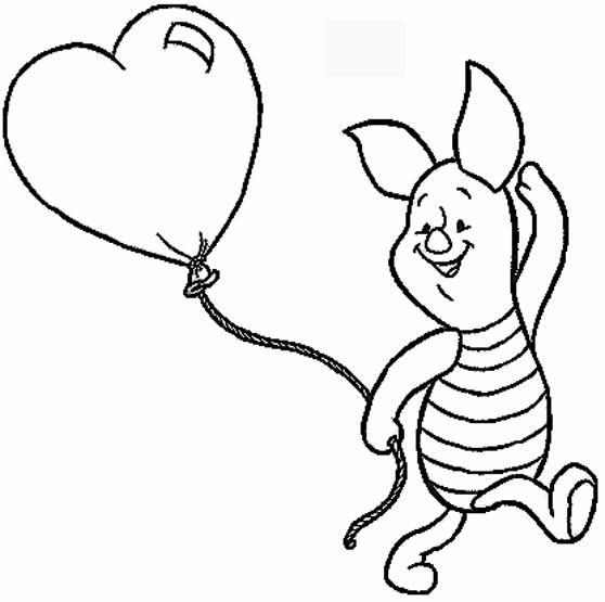 558x555 Disney Valentine Coloring Pages Quotes Wishes For Valentine's Week