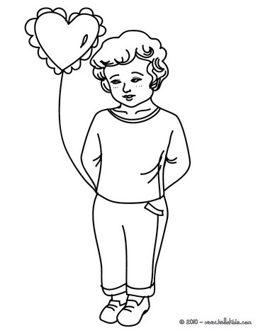 364x470 Valentine's Day Coloring Pages