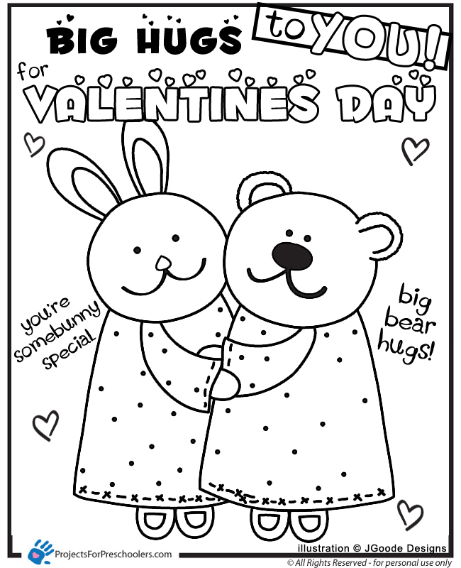 picture about Valentines to Color Printable known as Valentine Coloring Internet pages For Kindergarten at