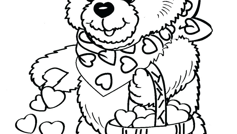 Valentine Coloring Pages To Print For Free