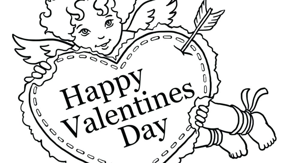 960x544 Cupid Coloring Pages Valentines Cupid Coloring Pages Free For Boys