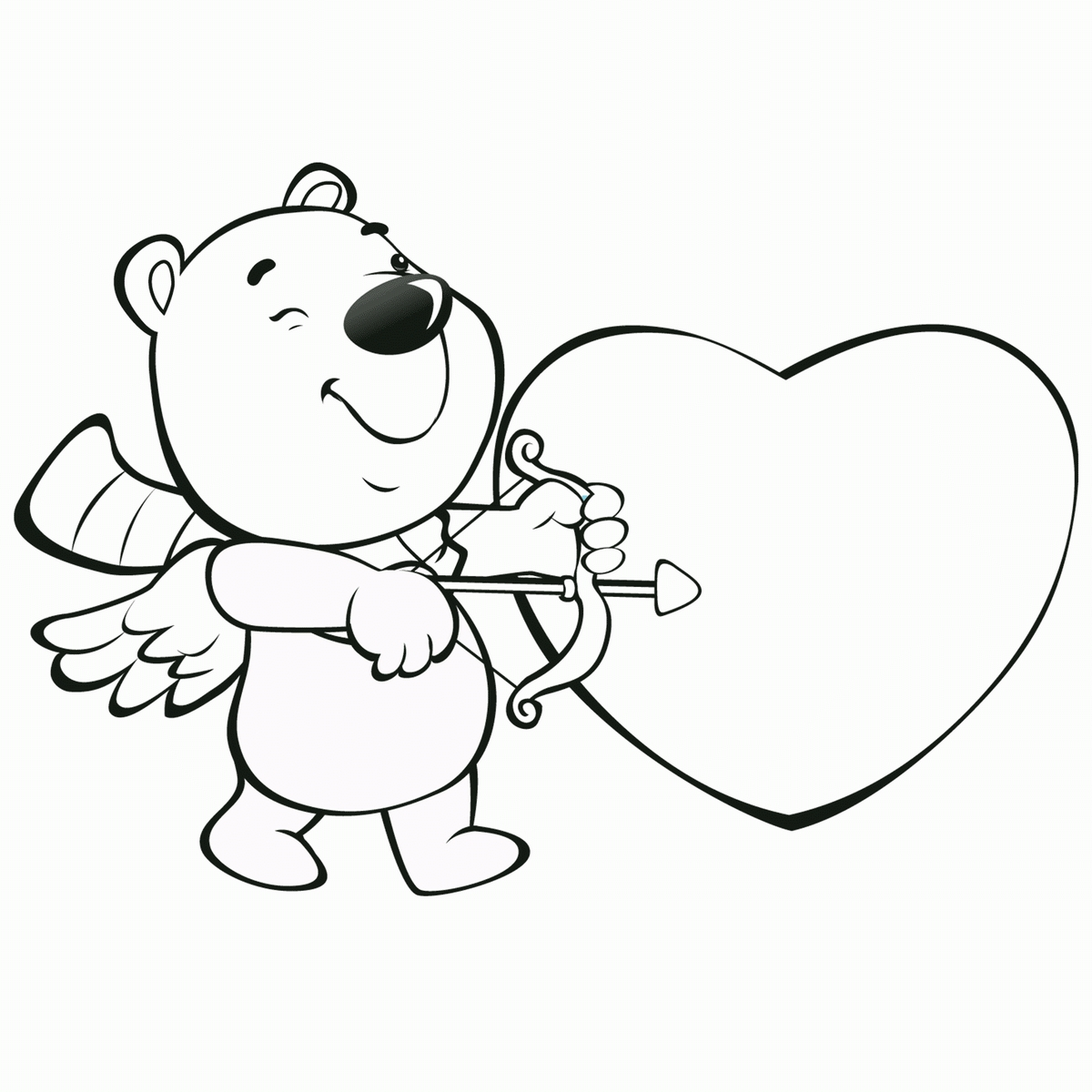 1200x1200 New Cupid Coloring Pages Printable Collection Printable Coloring