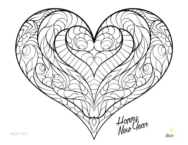 618x478 Human Heart Coloring Page Human Heart Coloring Page Valentine
