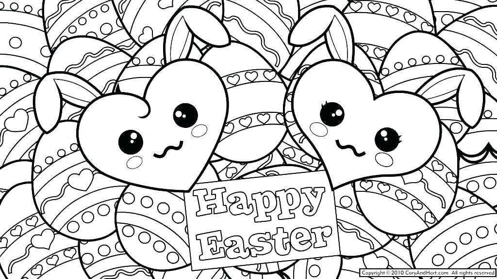1024x576 Printable Heart Coloring Pages