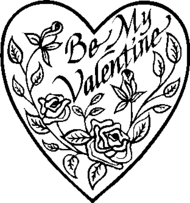 750x800 Valentine Heart Coloring Pictures Vale Add Photo Gallery Valentine