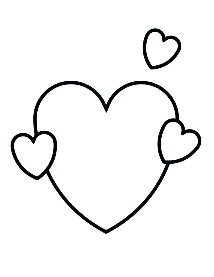 728x941 Coloring Page Of A Heart Broken Heart Coloring Pages To Print Out