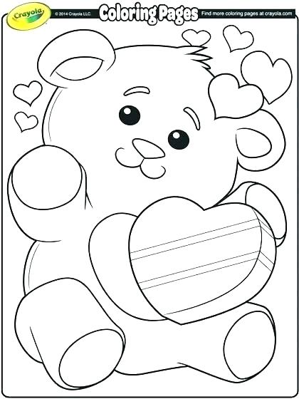 420x560 Coloring Pages Of Valentines Day Printable Valentines Day Coloring