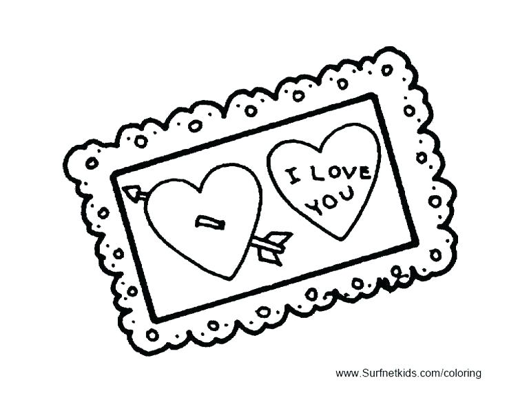 768x593 Free Printable Coloring Pages For Valentines Day Free Printable