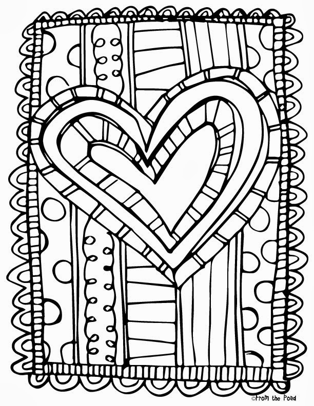 612x792 Grade Coloring Pages Valentine Math Worksheets Grade