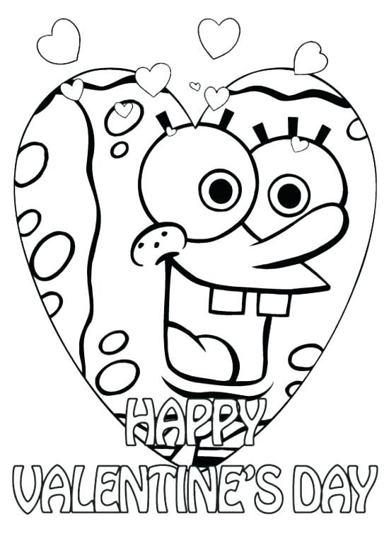 550x778 Free Valentines Day Coloring Pages