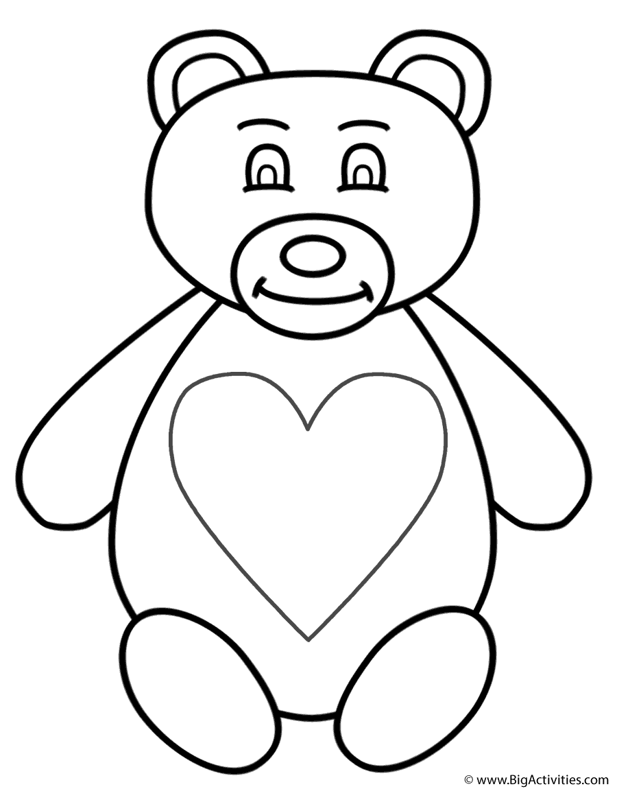 900x1150 Teddy Bear