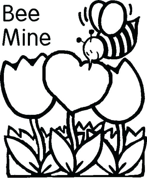 496x600 Preschool Valentine Coloring Pages Valentine Heart Coloring Pages