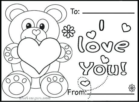 460x338 Valentine Cartoon Coloring Pages More Images Of Valentines
