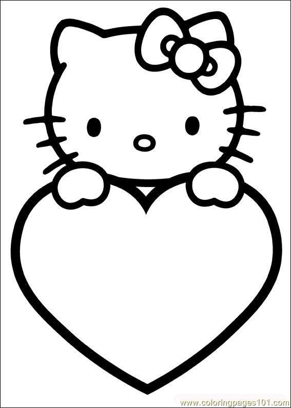 567x794 Valentines Coloring Pages Free Printable Coloring Page