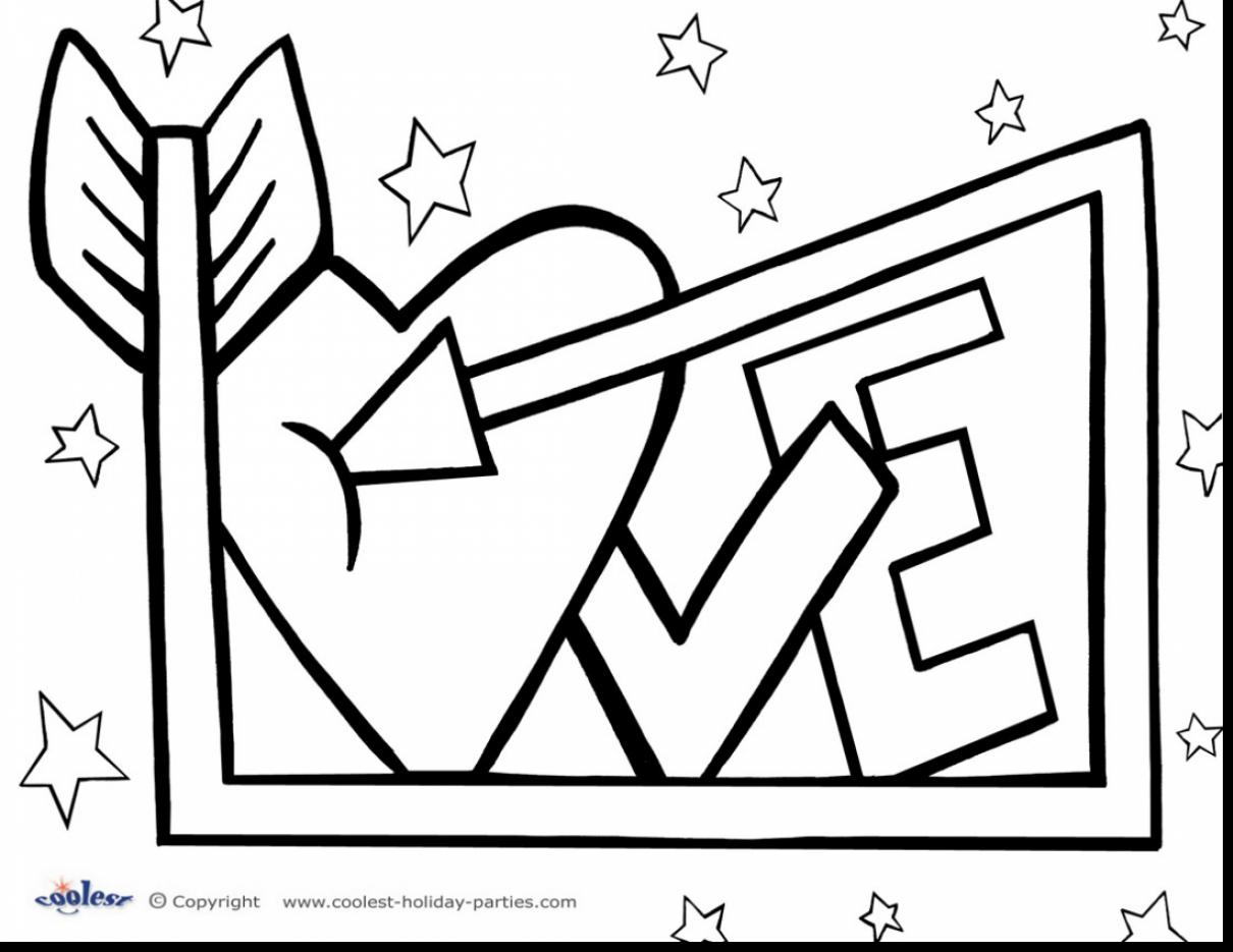 1210x935 Printable Valentines Day Coloring Pages