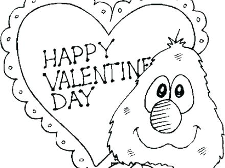 440x330 Valentines Coloring Pages Disney Printable Valentine Coloring