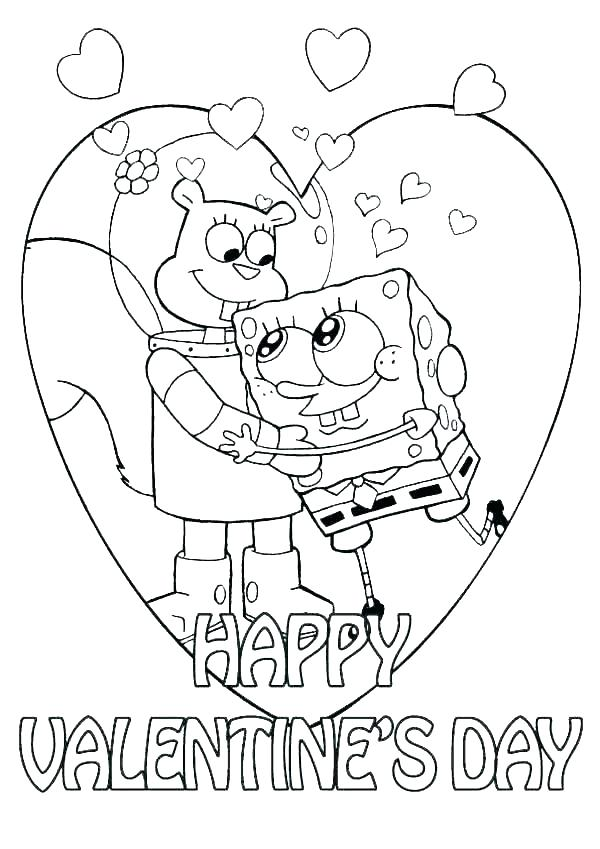 600x849 Coloring Pages Valentine Valentines Day Coloring Pages Valentine