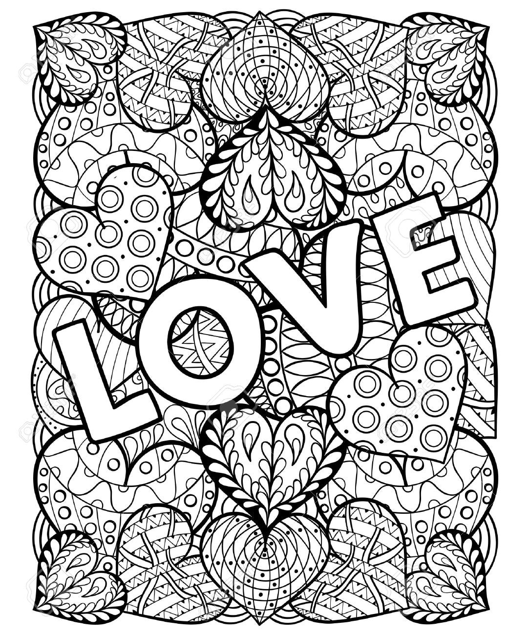 1083x1300 Adult Coloring Pages Valentines Wagashiya