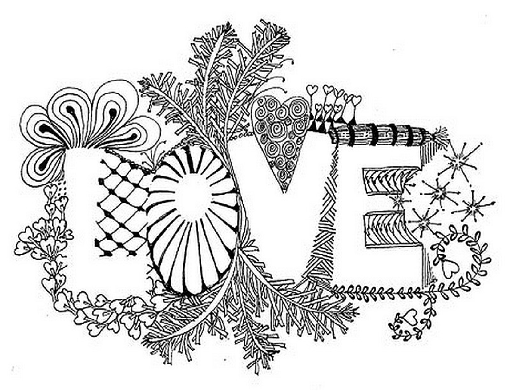 1650x1275 Valentine's Day Coloring Pages For Adults Inspiration