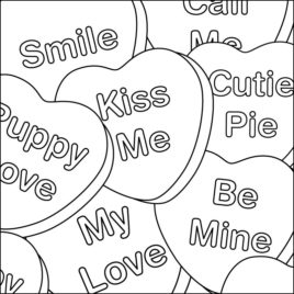 268x268 Valentines Day Coloring Pages For Adults Give The Best Coloring
