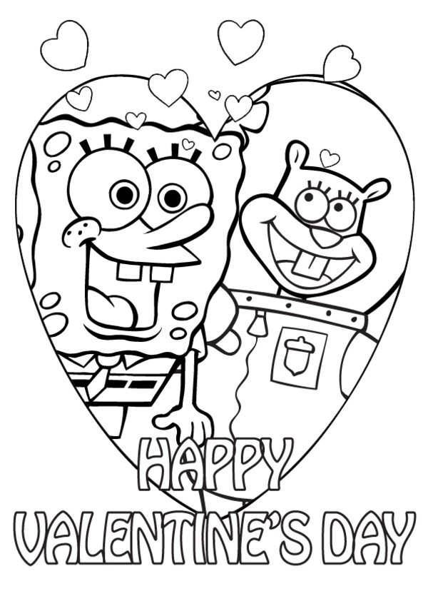 600x849 Valentine Coloring Pages Boys Valentine Coloring Pages