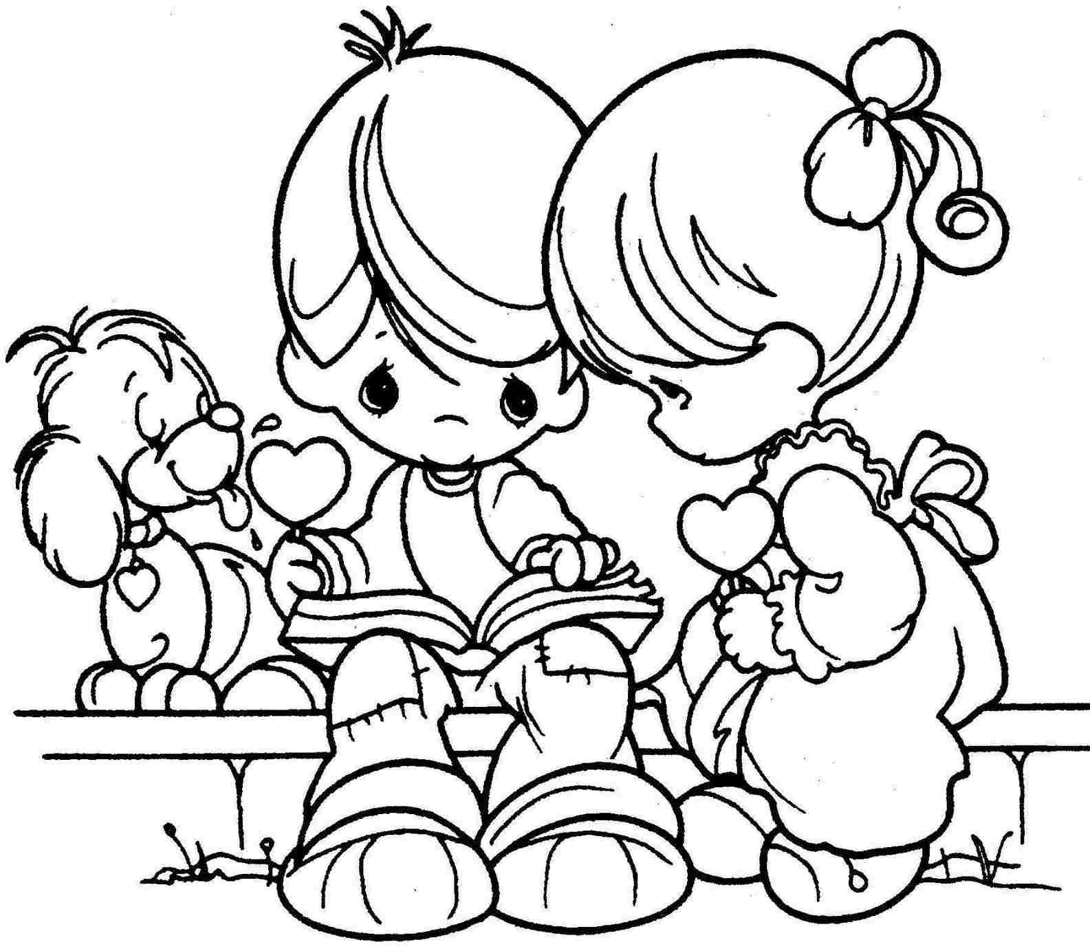 1585x1383 Perfect Valentines Day Coloring Page In Download Coloring Pages